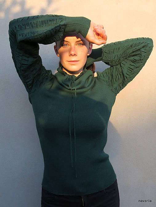 Pulover ELISABETH s bohatými rukávy