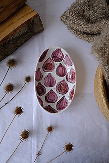 Nádoby - Oválna miska Majolika (Figy) - 12664930_