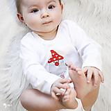 Detské oblečenie - body TRPASLÍK VALENTÍN (dlhý/krátky rukáv) - 12667092_