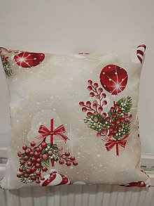 Úžitkový textil - Vankúš   vianočný - 12671951_