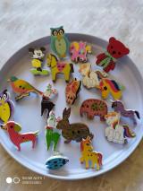 Brošne - Zvieratká, drobné odznaky do Mikulašskej čižmičky - 12668737_