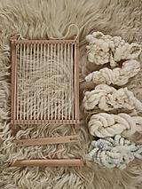 Dekorácie - SADA NA TKANIE TAPISÉRIE - Ručne pradená vlna 100g - 12666819_