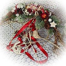 Dekorácie - Vánoční závěs - 12672282_