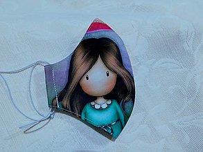 Rúška - Rúško Santoro dievčatko,  teenage/dámska veľkosť - 12671388_