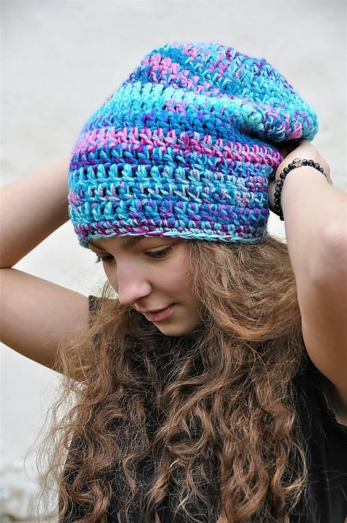 Háčkovaná čiapka Arleta
