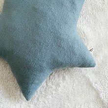 """Textil - Hviezda """"Blue/Green"""" - 12669992_"""