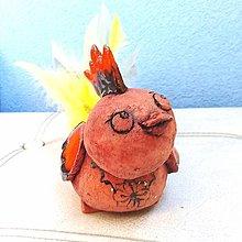 Sochy - Kohútik -- keramika - 12673900_