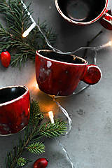 Nádoby - Malé Vianočné espresso - 12676844_