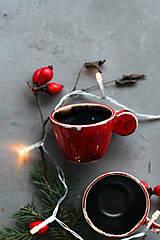 Nádoby - Malé Vianočné espresso  - 12676872_