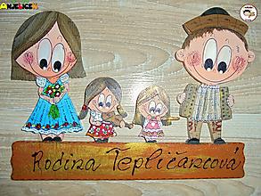 Tabuľky - Menovka - rodinka - 12674855_