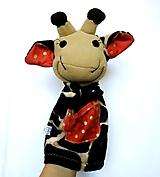 Maňuška žirafa - Žirafka od Zlatej bodky