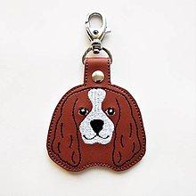 Kľúčenky - Kľúčenka psík kavalier - 12673245_