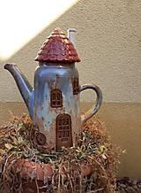 Čajník domčekový