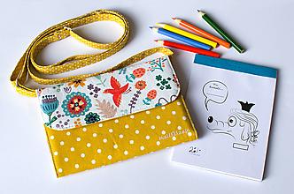 Detské tašky - Detská kabelka - pastelkovníčka Líščia lúčka - 12676048_
