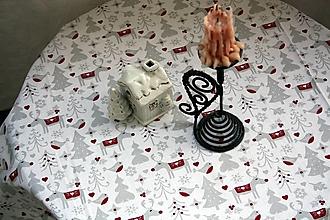 Úžitkový textil - Obrus.  Štóla zimná, adventná, vianočná - 12674471_
