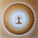 Obrazy - STROM ŽIVOTA (gold) 60 x 60 - 12676893_