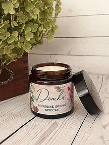 Svietidlá a sviečky - Toskánske bylinky - sójová sviečka 230g - 12674578_