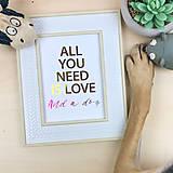 Obrázky - Láska k psíkovi - print - 12672373_