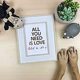 Obrázky - Láska k psíkovi - print - 12672375_