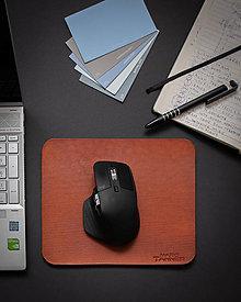 Pomôcky - Mouse Pad - Kožená podložka pod myš - 12676655_