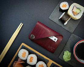 Tašky - Kožená peňaženka OrigaMa - 12676721_
