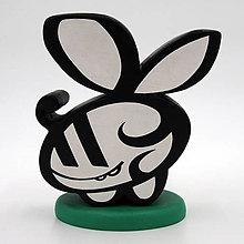Dekorácie - Veselá včielka maskot - 12676917_