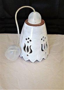 Svietidlá a sviečky - Lampa vyrezávaná - 12675661_