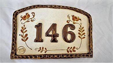 Dekorácie - Čísla na dom - 12675721_