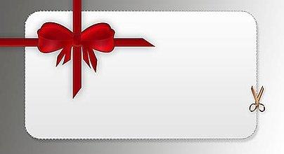 Darčekové poukážky - Darčeková poukážka na nákup - 12676824_