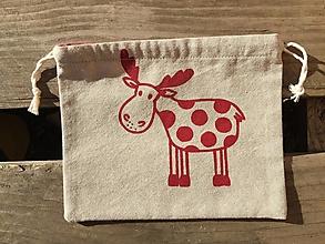 Úžitkový textil - vianočné vrecúško 2 - 12676282_