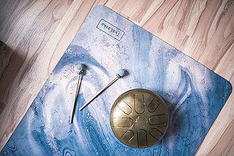Úžitkový textil - Štýlová joga podložka Touha zo 100% prírodného kaučuku - 12673320_