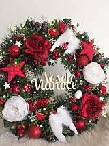Dekorácie - Vianočný veniec - 12678127_