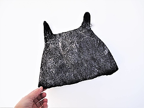 Čiapky - Vlnená čiapka vlk - 12682384_