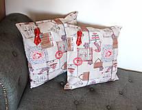 Úžitkový textil - Vianočná sada - stredový obrus + 2 vankúše - 12680668_