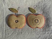Dekorácie - Jabĺčka dve-tri... - 12681505_