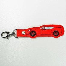 Kľúčenky - Prívesok športové auto - 12680890_