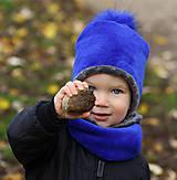 Detské čiapky - Hrejivý set - 12676968_