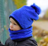 Detské čiapky - Hrejivý set - 12676981_