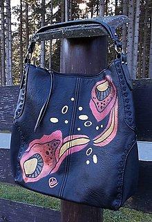 Kabelky - Maľovaná kabelka 49 - 12679998_