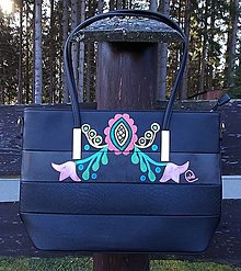 Kabelky - Maľovaná kabelka 50 - 12680094_