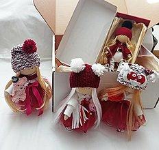 Hračky - Textilná bábika / kúkoľka - 12677372_