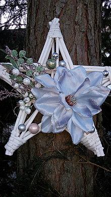 Dekorácie - hviezda na zavesenie - 12678105_