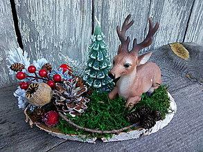 Dekorácie - vianočný svietnik - PREDANÉ - 12678128_