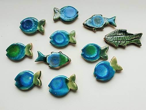 Magnetka RYBIČKA (Rybička modro-zelená)