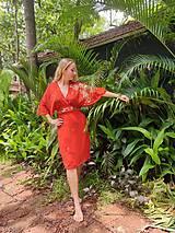 Šaty - Šaty motýľ - 12678479_