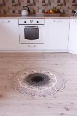 Úžitkový textil - Macrame koberec - 12677868_