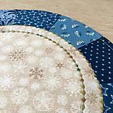 Úžitkový textil - prestierania modré - 12678927_