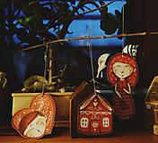 Dekorácie - Perníčkové štítky - 12686457_