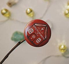 Odznaky/Brošne - Perníkový domček/ odznak-butónik - 12686427_