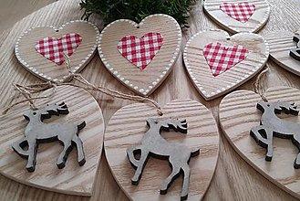 Dekorácie - Vianočná sada z dreva - 12682879_